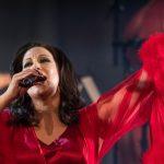 Konsertbild Lisa Nilsson, Kvinnan som är jag