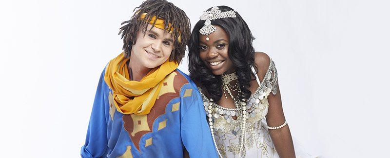 Charlie och Renaijda Foto: Peter Knutson