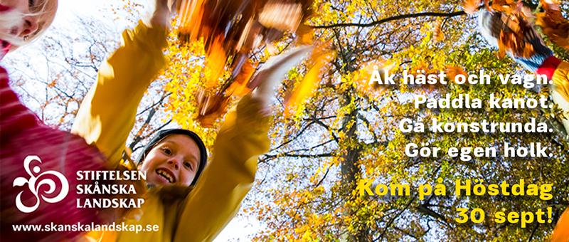 Välkommen ut på vår Höstdag i Snogeholm!