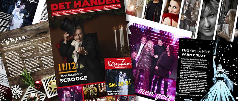 November/December-numret ute!