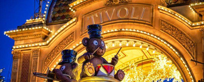 Jul i Tivoli, huvudingången