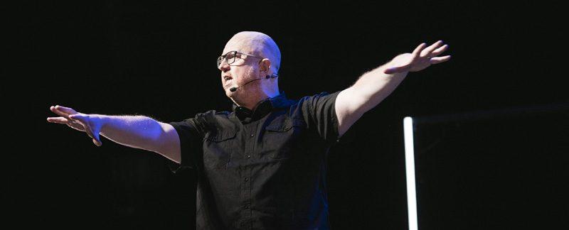 Anders Jansson våren 2019. Anders Jansson, Radikal Optimist. Foto: Nils Bergendal