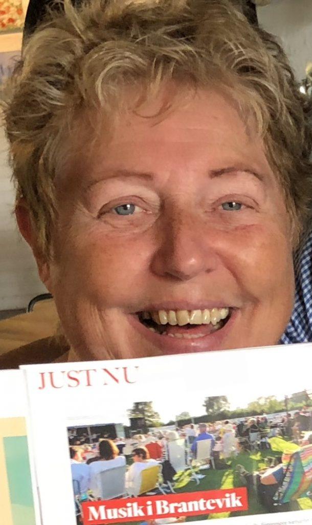 Britt Marie Norelius. Pressansvarig och digitalredaktör för Musik under Stjärnorna 2019.