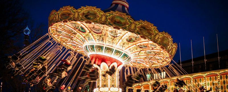 Underbar jul på Tivoli